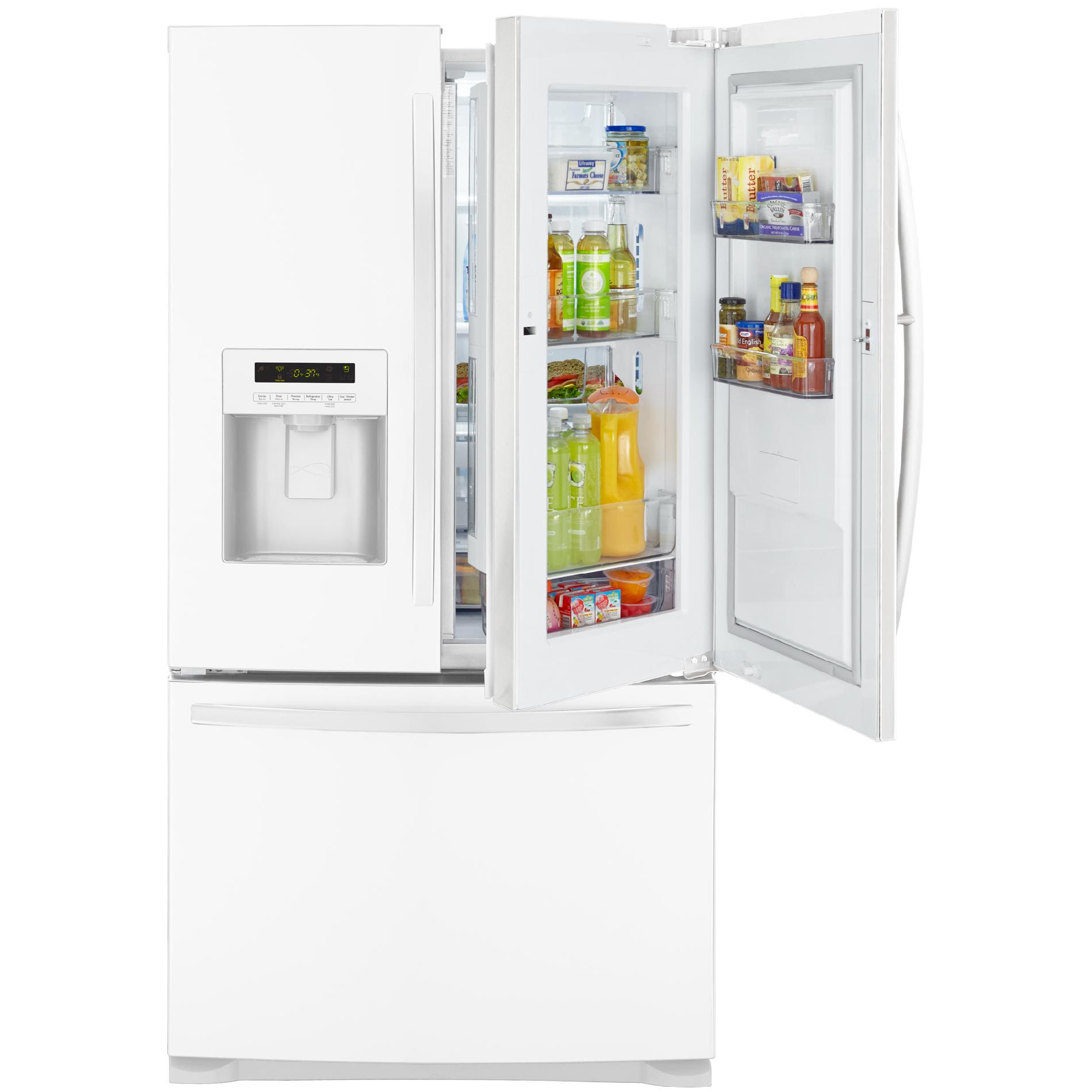 Kenmore 23 9 cu ft French Door Bottom Freezer Refrigerator w