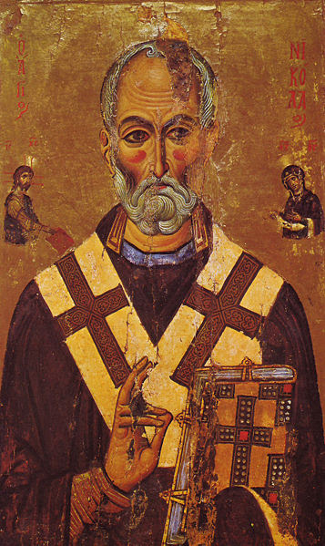 File:St Nicholas Icon Sinai 13th century.jpg