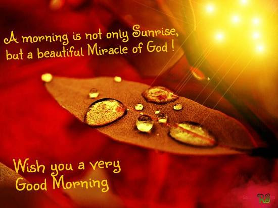 A Morning Is A Miracle Of God Free Good Morning Ecards Greeting