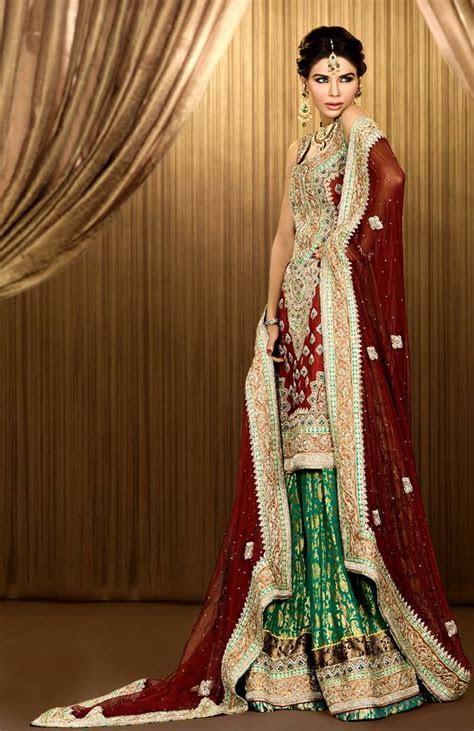 Beautiful Mehdi Bridal Dress 2014 New Collection