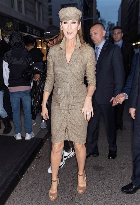 Celine Dion in New York ahead of 2017 MET Gala