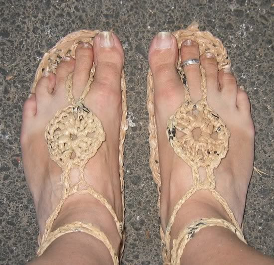 Grocery Sandals