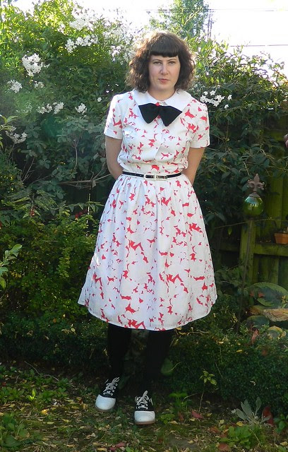 Mad Men Challenge Dress and OWOP Day Six