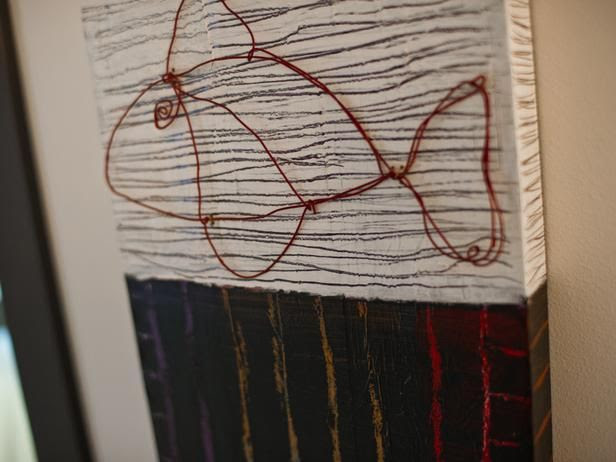 Kid-friendly fish artwork, made from wire and ...   HGTV Dream Home 2…