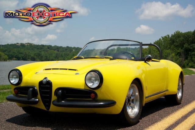 1957 Alfa Romeo Giulietta Roadster for sale  Alfa Romeo Giulietta Race Car Race Car 1957 for
