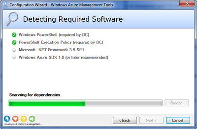 Detecting Required Software