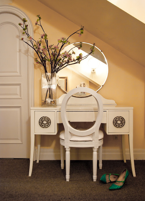 Quintessential Dressing Table eclectic bedroom