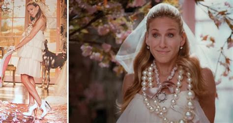 Sex and the City Carrie Bradshaw Wedding Dress from Vogue