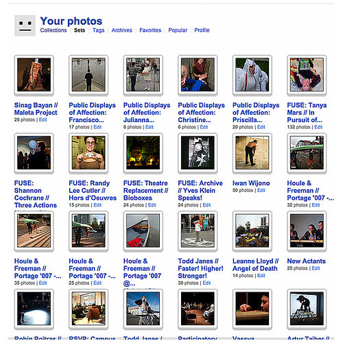Flickr Photo Sets