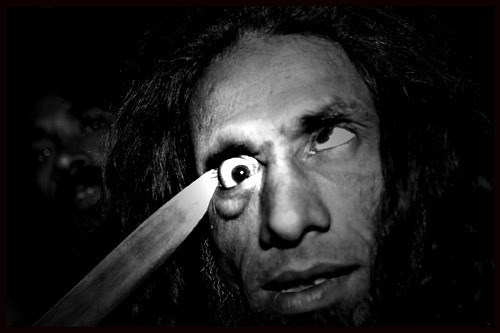 Late Barsati Baba Exponent of  Hardcore EyeBall Piercing by firoze shakir photographerno1