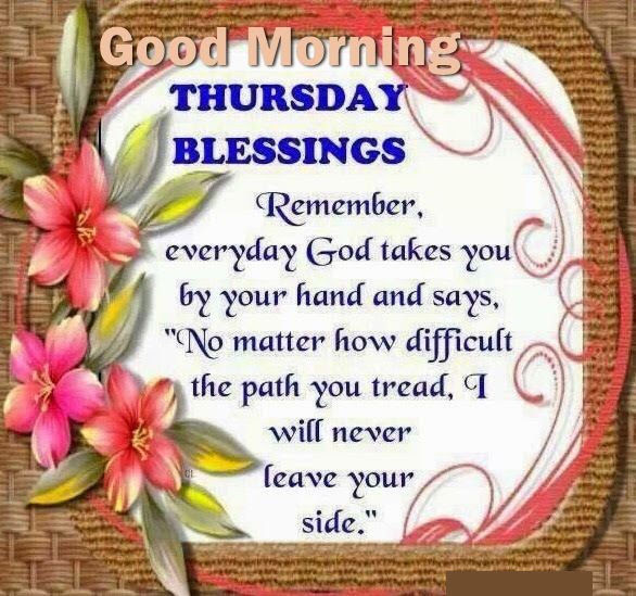 Thursday Blessings Good Morning Quote Pictures Photos And Images