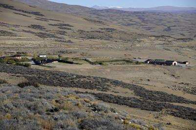 Una de las estancias de Báez en la zona sur de la Provincia. Foto Maxi Failla.