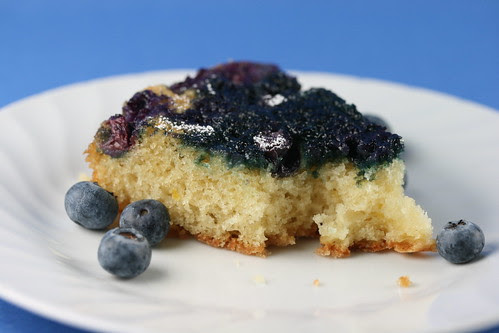 Food Librarian - Blueberry Buttermilk Cake (Upside down)