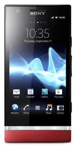 Sony Xperia P LT22iRD Unlocked Phone with Photo