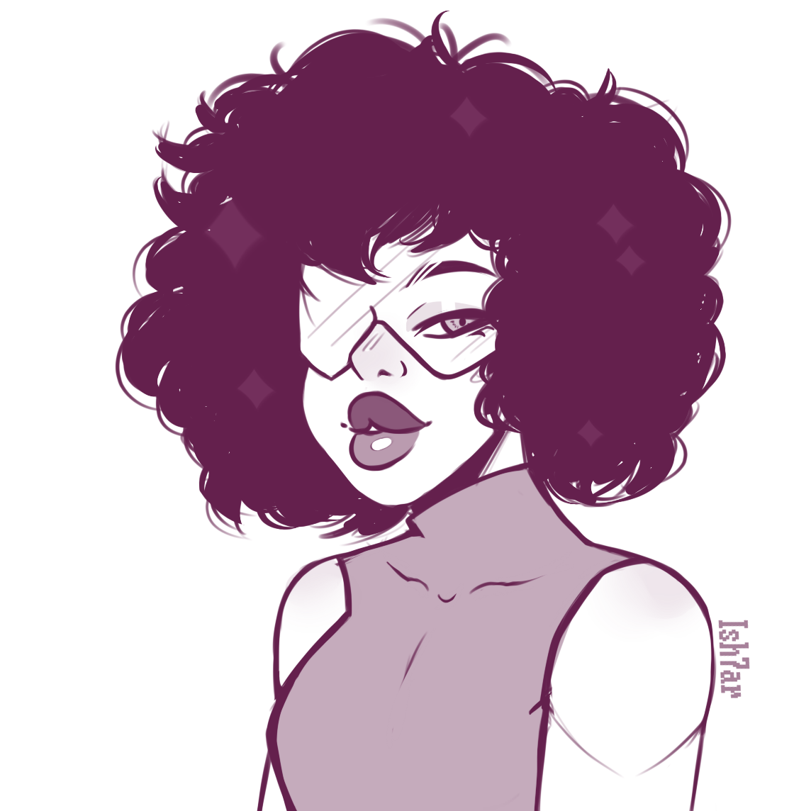 fast sketch of garnet