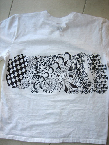 Men's Zentangle T-Shirt