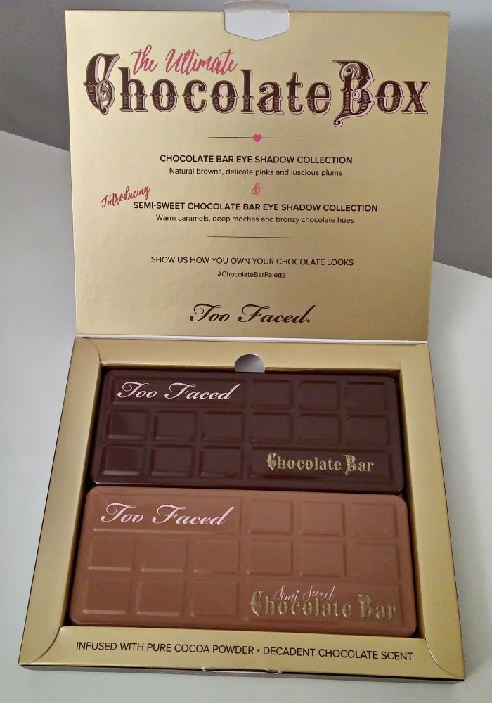 Too Faced Cosmetics Chocolate Palettes