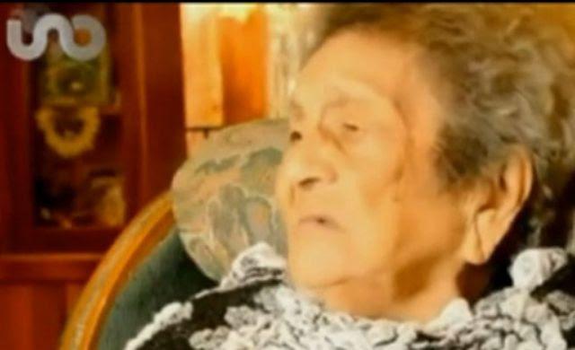 Manuela Hernández, la centenaria que acaba de sacarse primaria.