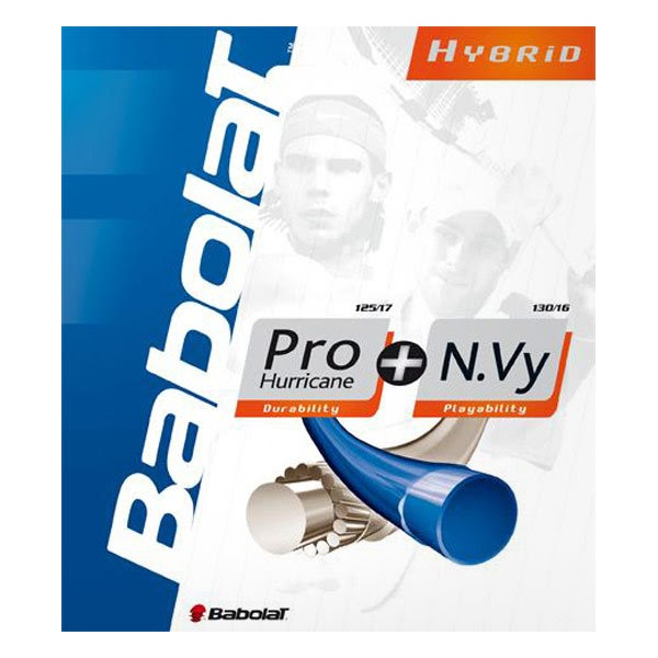 Tennis hybrid string combinations that won't break the bank