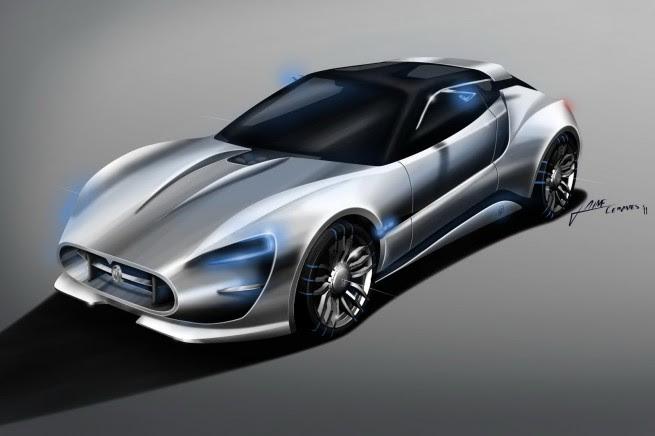 Students Vision of Future Maserati