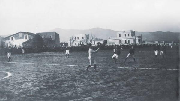 Από το 1900 έως το 1901 οι αγώνες γίνονταν στους ελεύθερους χώρους του ξενοδοχείου Casanovas. Σήμερα υπάρχει εκεί νοσοκομείο (Sant Pau)