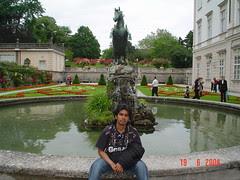 Kat Schloss Mirabell, Salzburg, Austria