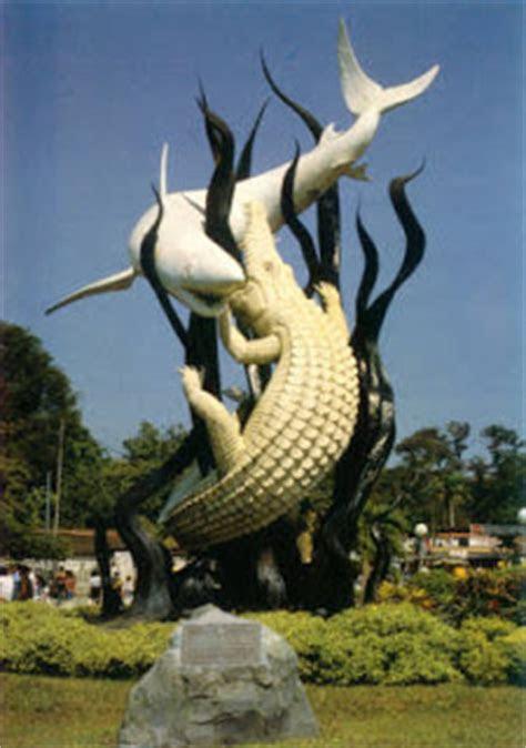 cerita rakyat asal usul kota surabaya  bahasa inggris