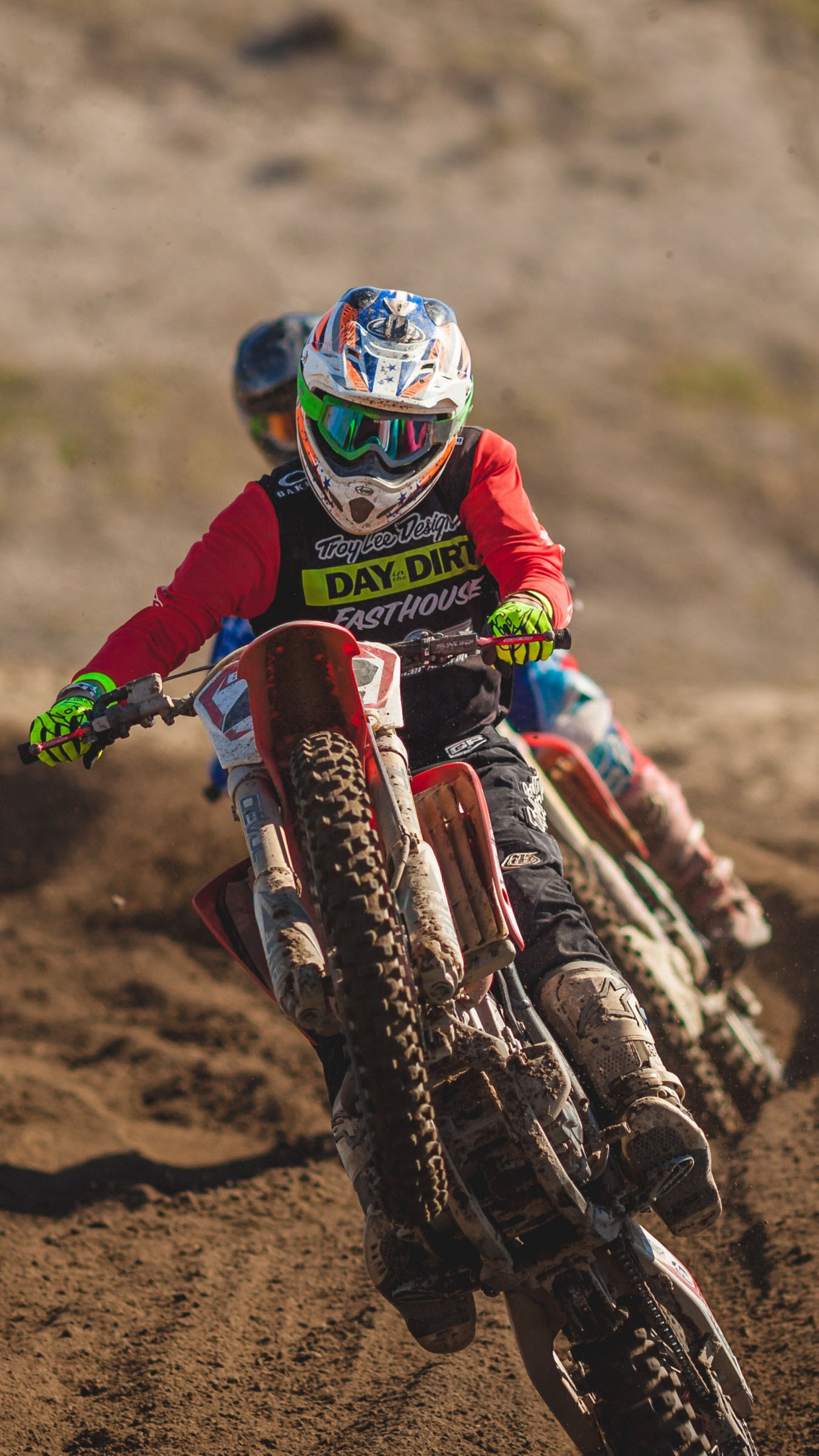 Motocross sand Wallpaper for iPhone X, 8, 7, 6 - Free ...