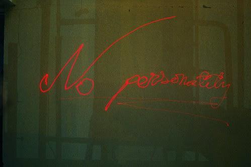 No personality