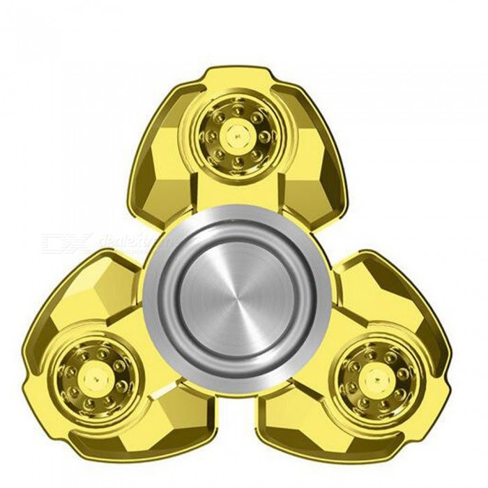 OJADE Hand Spinner Fid s Relief Fingertip Gyro Toy Golden Free