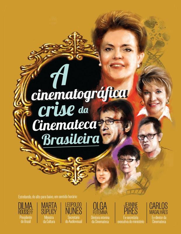 A cinematográfica crise da Cinemateca Brasileira (Foto: Ilustração Farrell)