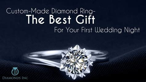 Custom Made Diamond Ring The Best Gift For Your First