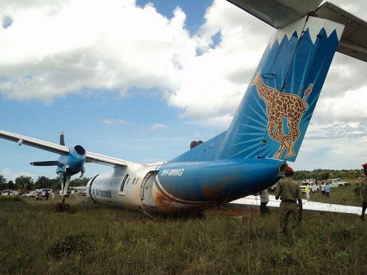 Air Tanzania's Dash 8-300 5H-MWF