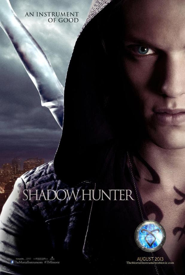 Jamie Campbell Bower in 'The Mortal Instruments: City of Bones' character poster