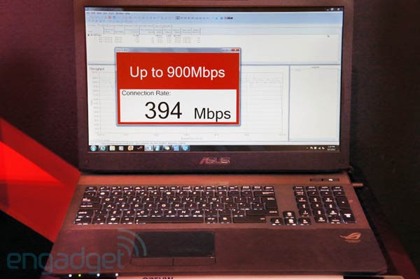 ASUS G75VW is world's first notebook to sport 900Mbps Broadcom 80211ac WiFi, we go handson at Computex video