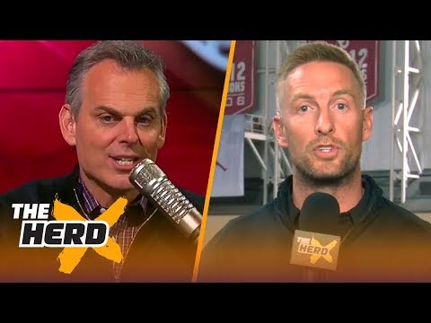 Joel Klatt joins Colin Cowherd from Baker Mayfield's Pro Day | THE HERD