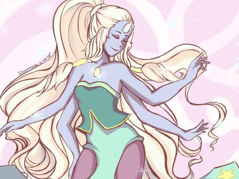 Opal- Steven Universe (Art trade)