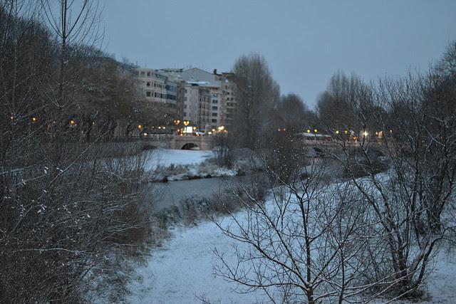 Burgos and snow