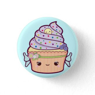 Fairy Cupcake button