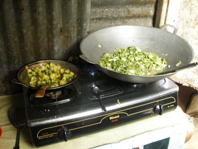 kentang sambal hijau