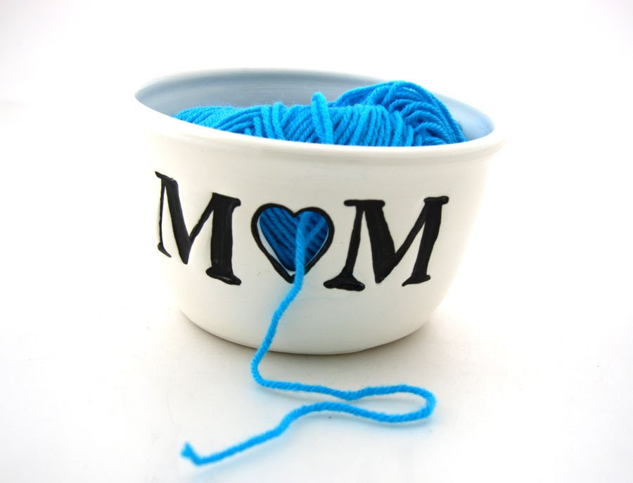 Yarn Bowl Knitting crochet Bowl Mom