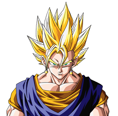 Vegetto Super Saiyajin