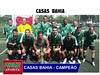 Casas Bahia é a grande campeã do 2º Campeonato Industrial master de society