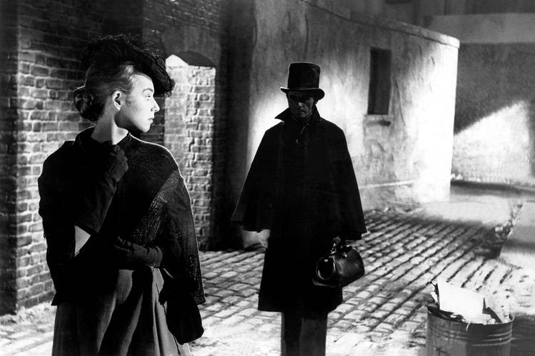 The 1888 Whitechapel murders have captured the imagination of generations, with hundreds of books and films claiming to solve the mystery of Jack the Ripper's identity. A scene from the 1959 film 'Jack the Ripper.'