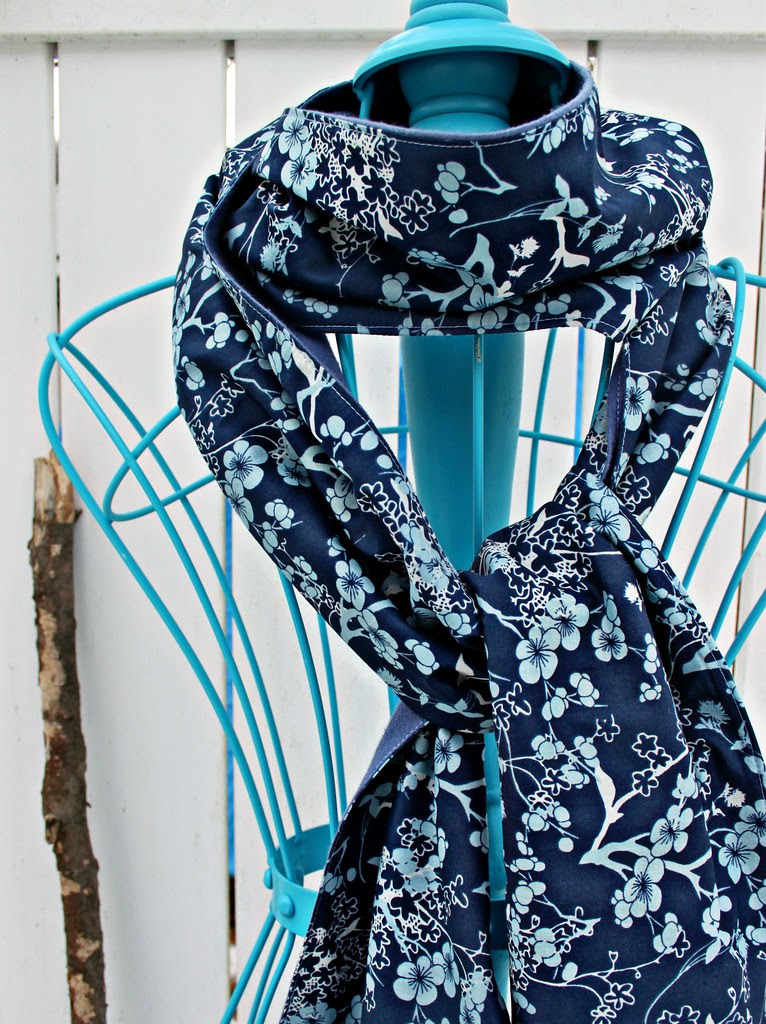 New Voile Scarf with Art Gallery Fabrics gorgeous new voiles!