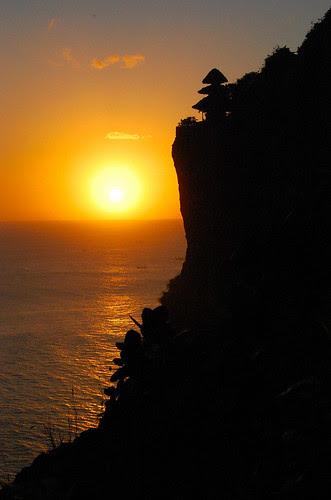Ulu Watu by sunset