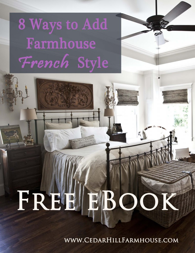 free ebook on farmhouse French design