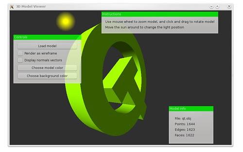 Qt widgets and OpenGL
