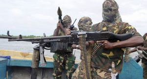 """The Niger Delta Avengers say they have bombed the Bonny crude export line in Rivers State, Nigeria's Niger Delta region.   In a statement on its website, the group said it """"brought down oil production activities at the Bonny 48 inches crude oil export line"""" through its """"strike team"""".  The militants said the attack was a """"wake up call"""" for the government, which it accused of intimidating youths in the region since the ceasefire began.  The statement, however, added that the organisation was """"still in favour of dialogue and negotiations"""".  This would be the first attack in Nigeria's southern energy hub since the Niger Delta Avengers declared in August that it was halting hostilities to pursue talks with the government."""