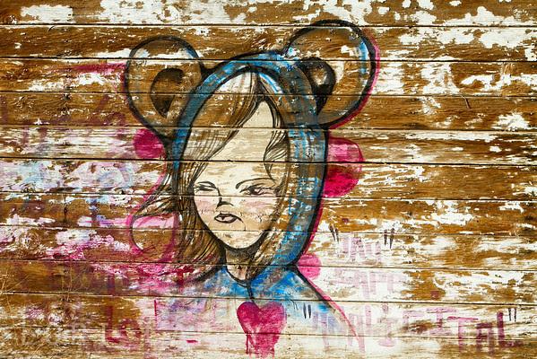 Graffiti, Bombay Beach, California